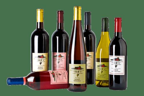 La successione dei vini a Tavola