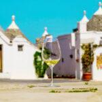 Calice di Vino ad Alberobello