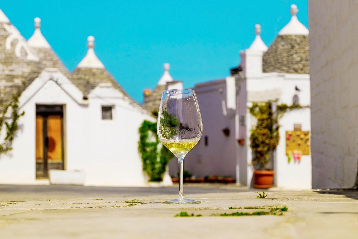 Il calice itinerante: Bere un buon Vino ad Alberobello